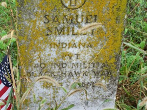 Samuel Smiley's Gravestone